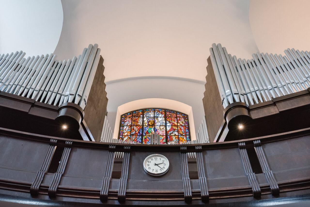 organy kościoła akademickiego kul