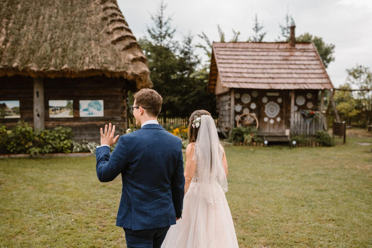 rustykalne wesele i ślub w Lublinie - para młoda