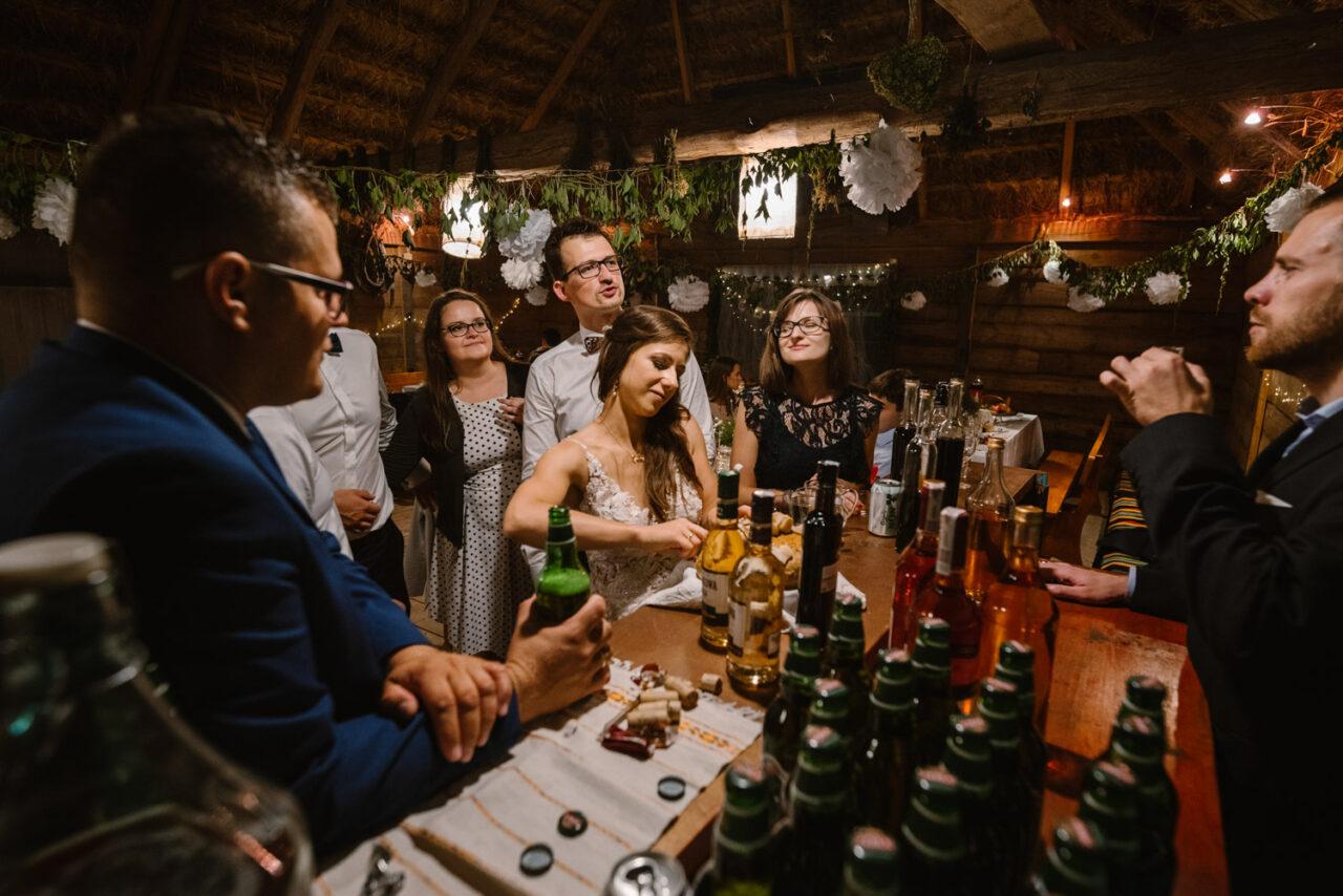 rustykalne wesele i ślub w Lublinie - drink bar