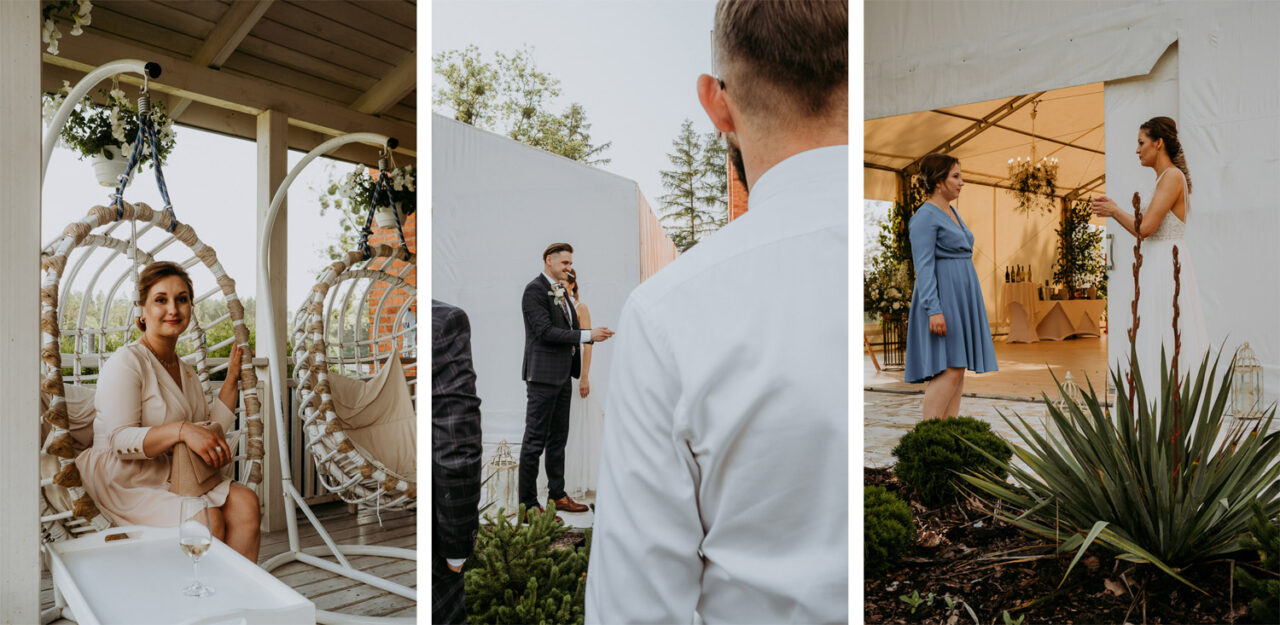 wesele w namiocie - relaks gości