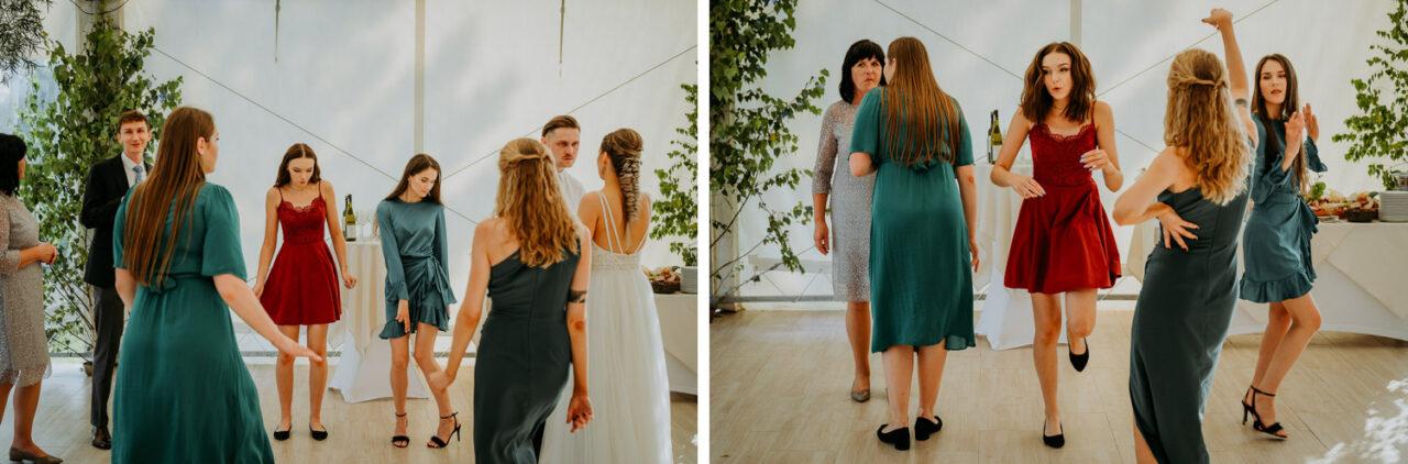 wesele w namiocie - tańce