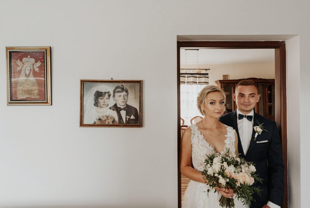 portret pary młodej i galeria domowych obrazów