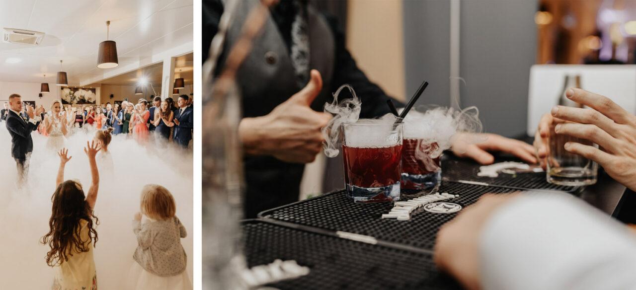 wesele w okolicy Lublina - drink bar i tańce