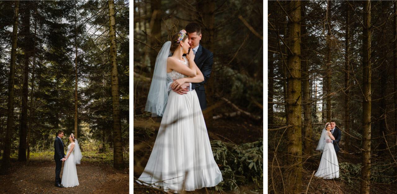 zdjęcia ślubne w Bieszczadach