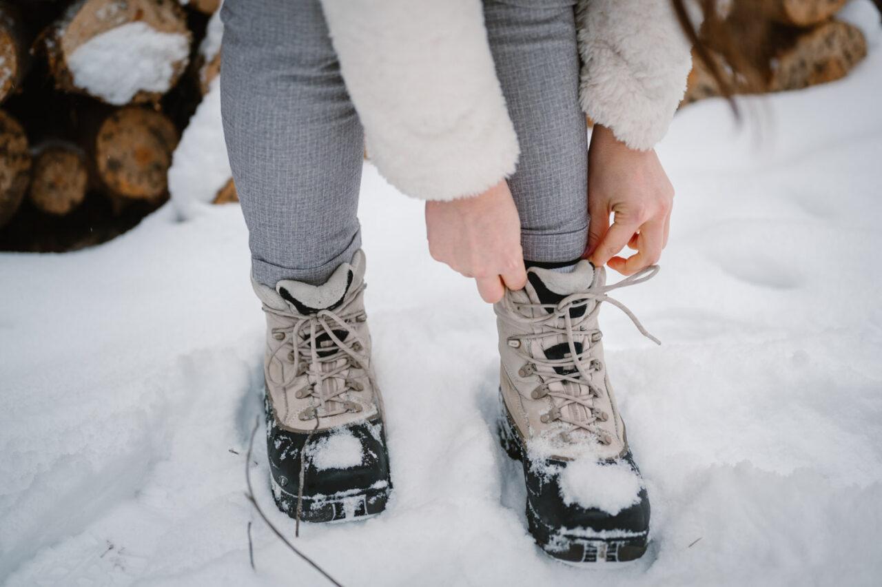 boty na zimowy spacer