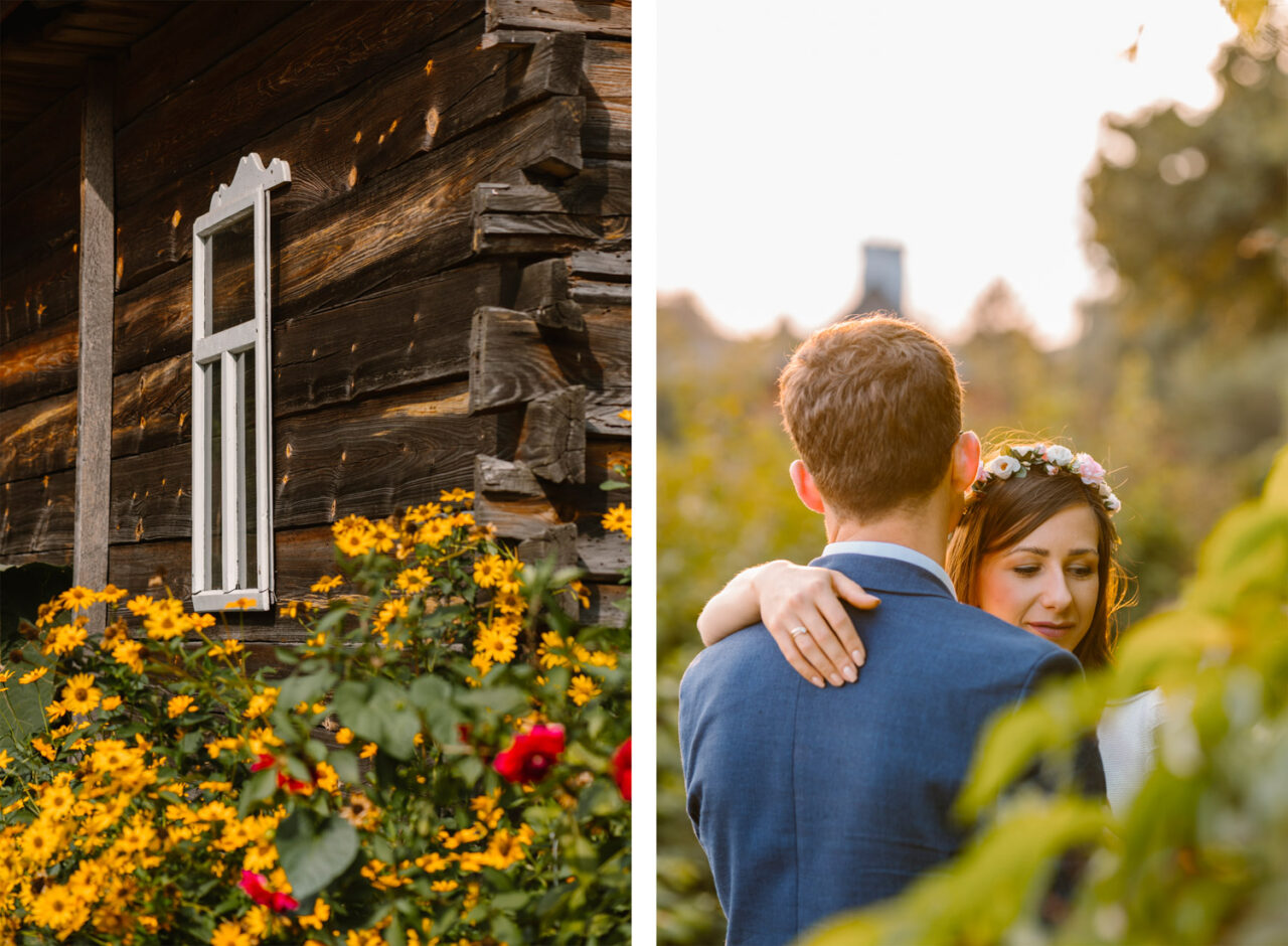 rustykalne zdjęcia ślubne