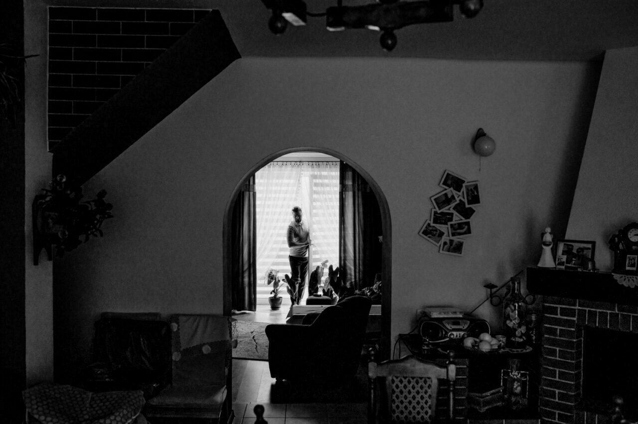 salon domowy przed ślubem w Zamościu