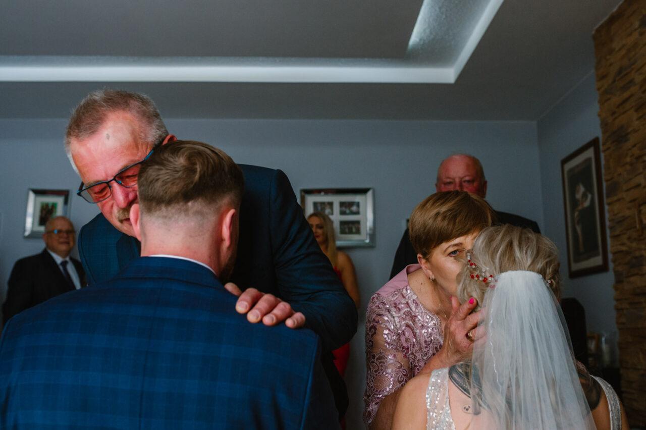 błogosławieństwo młodej pary