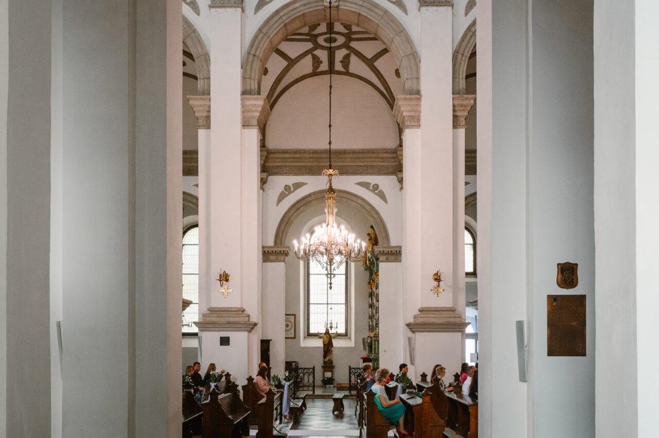 ślub w Zamościu - katedra