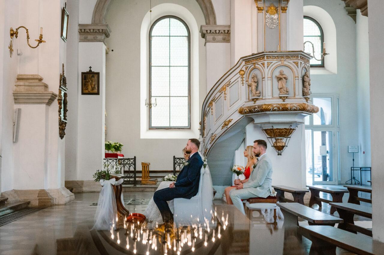 ślub w Zamościu - para młoda