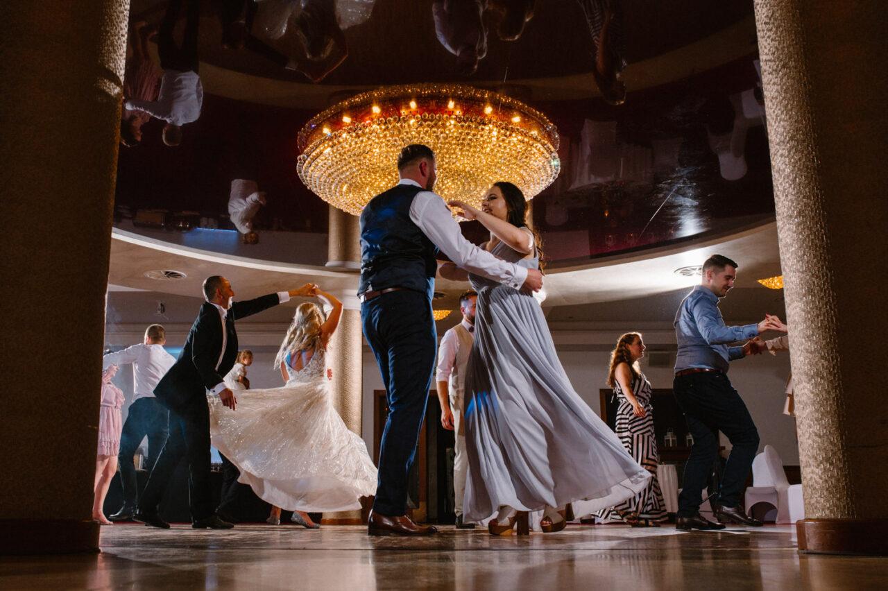 taniec na weselu w Zamościu