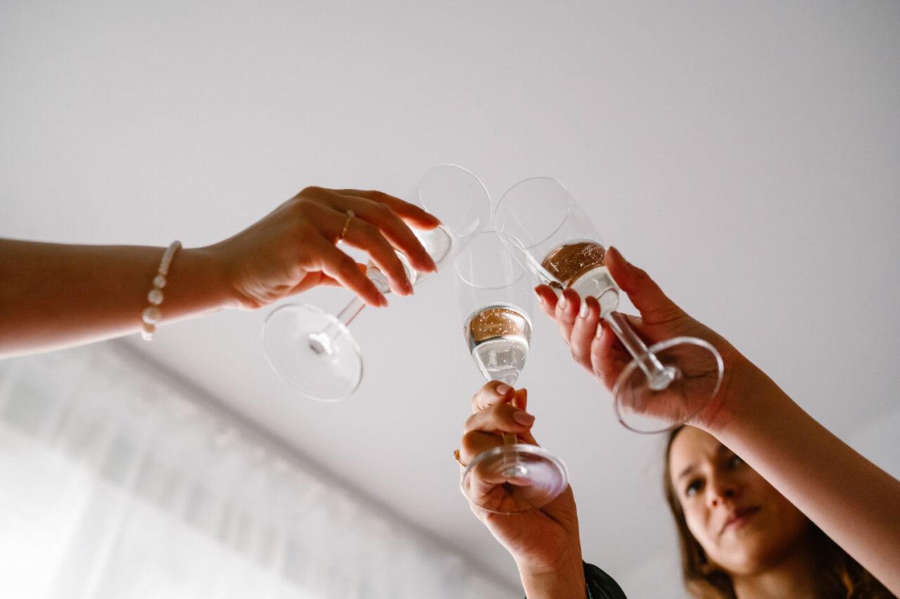 toast z szampanem