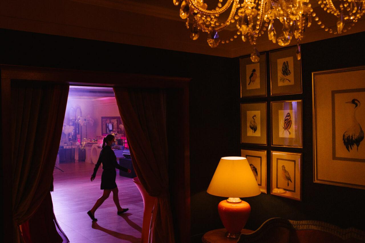 hotel Drob w Urszulinie - wesele po zmroku