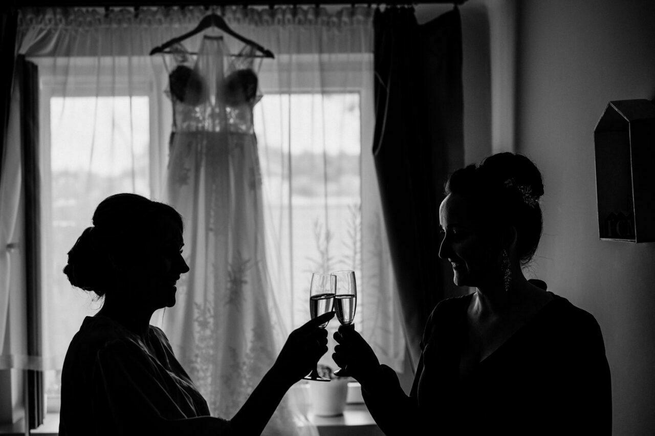 toast panny młodej i druhny